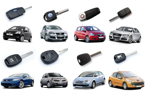 Car Brands Starting With T >> Different Car Brands And Their Keys Safety First Locksmith